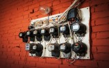 old electric meters