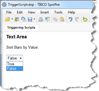 Trigger Script Controls via Property Control changes | The TIBCO Blog