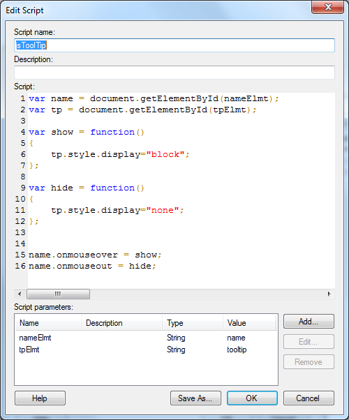 Using JavaScript inside Text Areas | The TIBCO Blog