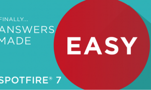 Finally… Answers Made Easy with Spotfire 7