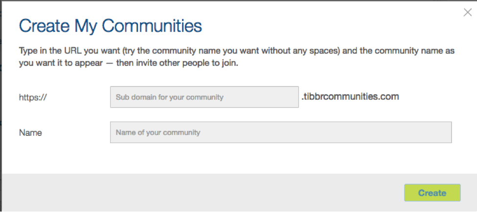 2 TIBCO's tibbr New External Communities Empower Greater Collaboration With Partners, Customers, and More—For Free