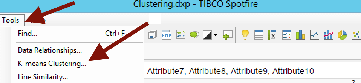 Clusteringtools Clustering Made Simple with Spotfire