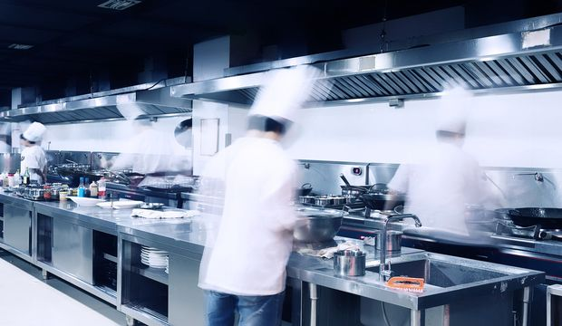 rsz bigstock modern hotel kitchen and busy 88492145 Art, Mystery, and Processes of a Restaurant Kitchen