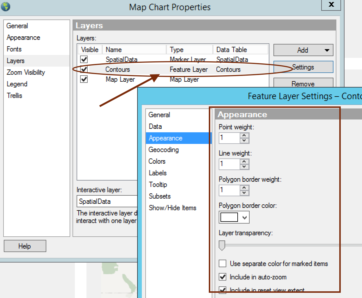 contour properties How to Create Contour Lines with TIBCO Spotfire