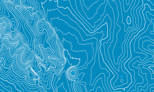 Topographic map background concept with real world topo lines.