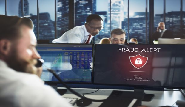 Fraud Scam Phishing Caution Deception Concept