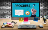 """PROGRESS up Business Performance Branding Strategy Good Progress Personal development career growth success Personal development personal and career growth PROGRESS """