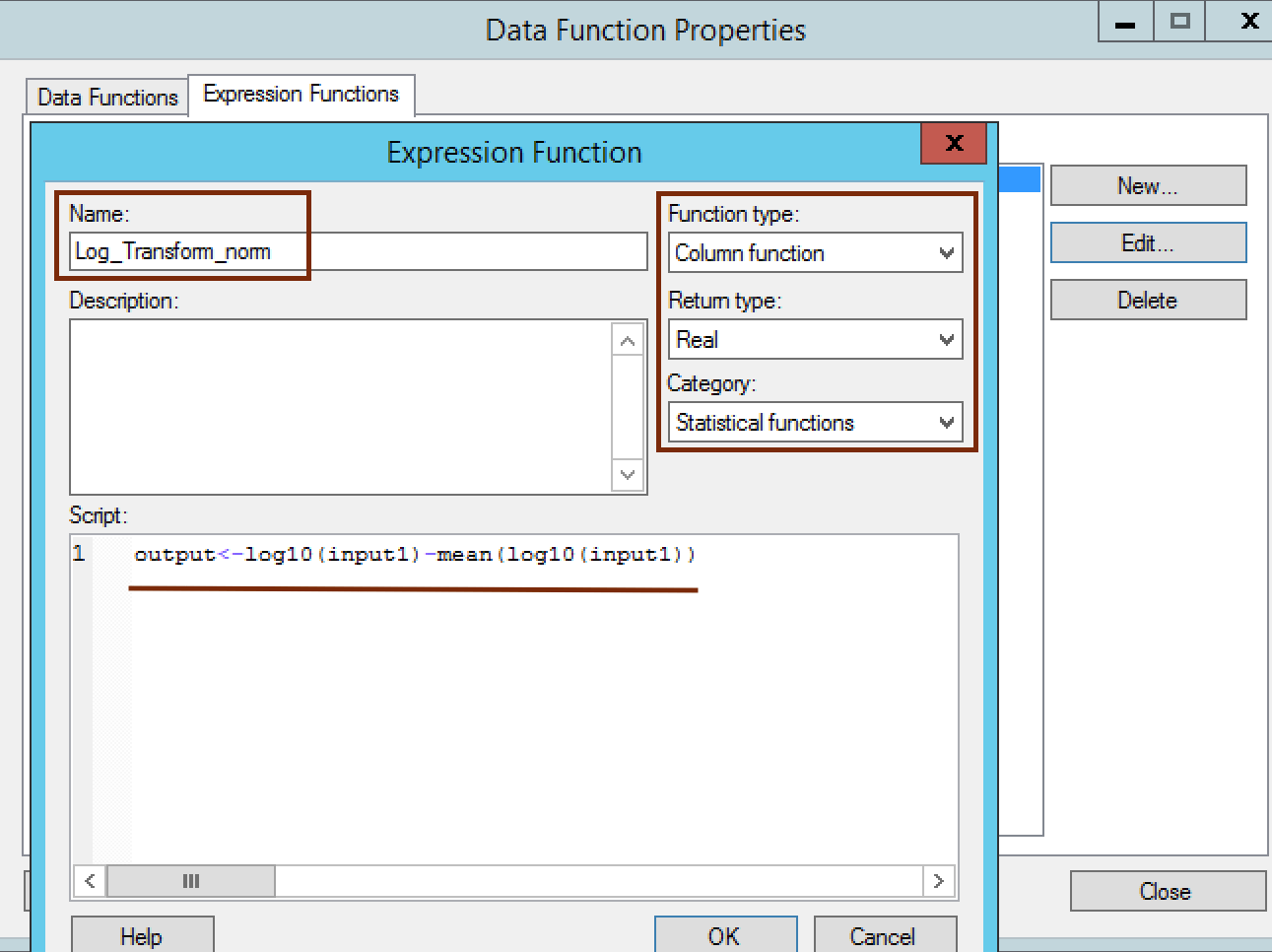 expression function