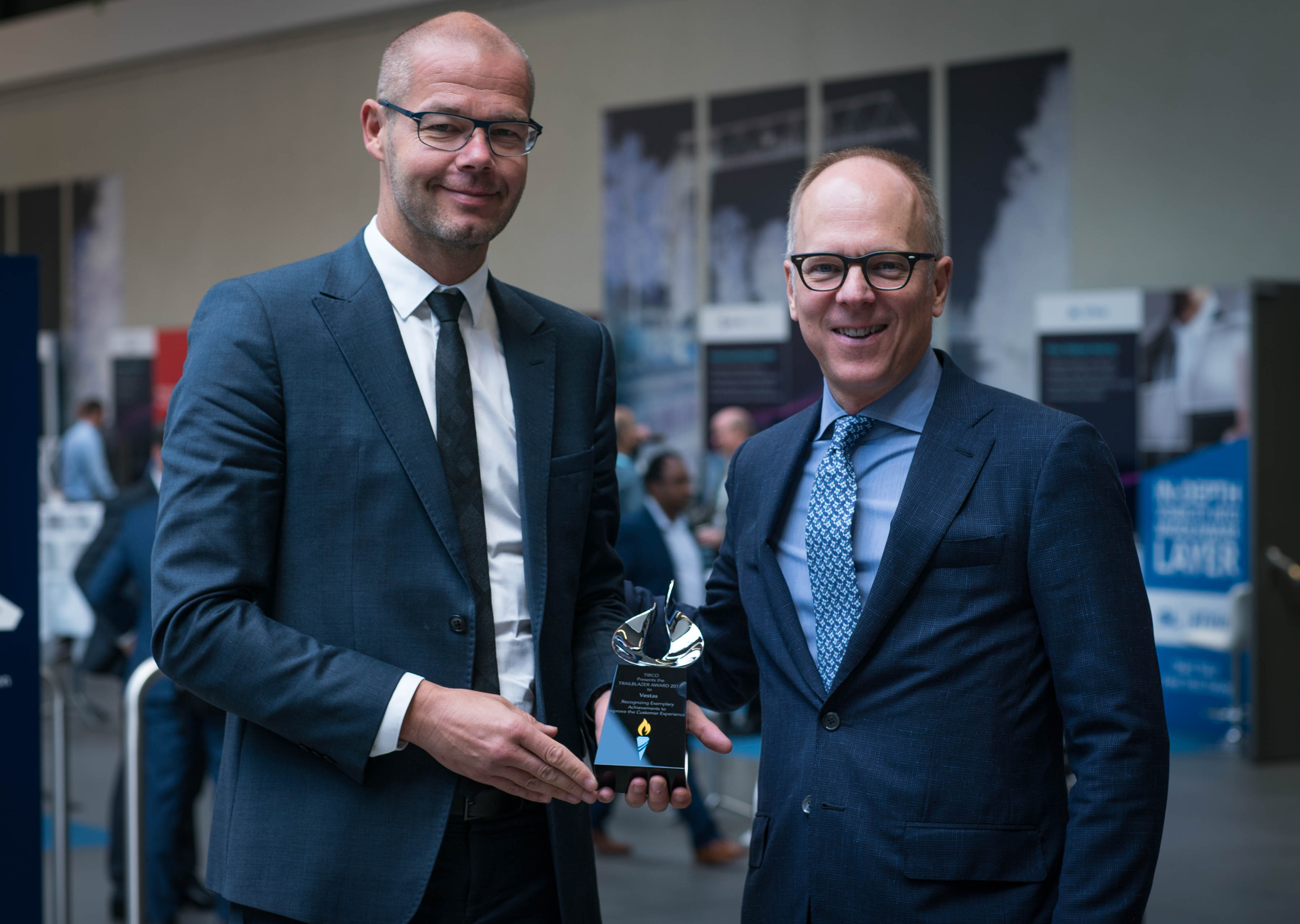 TB2017 Vestas 01 In Berlin, Three Companies Honored with TIBCO Trailblazer Awards