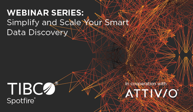 Attivio Webinar Series 2 Blog 620x360 WEBINAR SERIES: Simplify and Scale Your Smart Data Discovery