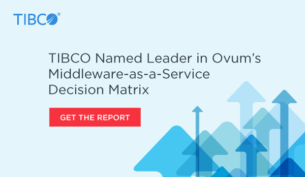 leader banner 620x360 TIBCO Named Market Leader in Middleware as a Service for 2017