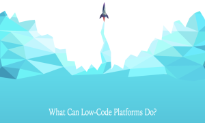 low-code development platform