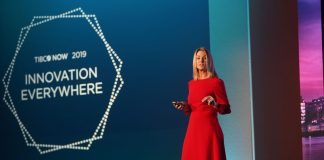Emma Action, Director of Marketing EMEA, speaks at TIBCO NOW London