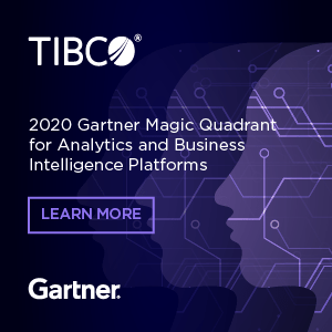 Learn more about the Gartner Magic Quadrant on tibco.com