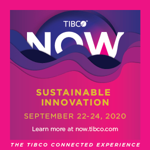 TIBCO NOW 2020 | Sustainable Innovation | The TIBCO Connected Experience