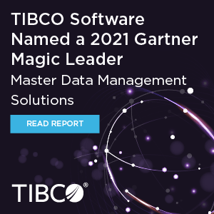 2021 Gartner Magic Quadrant for Master Data Management Solutions