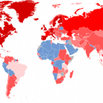 Map of the World Financial Crisis