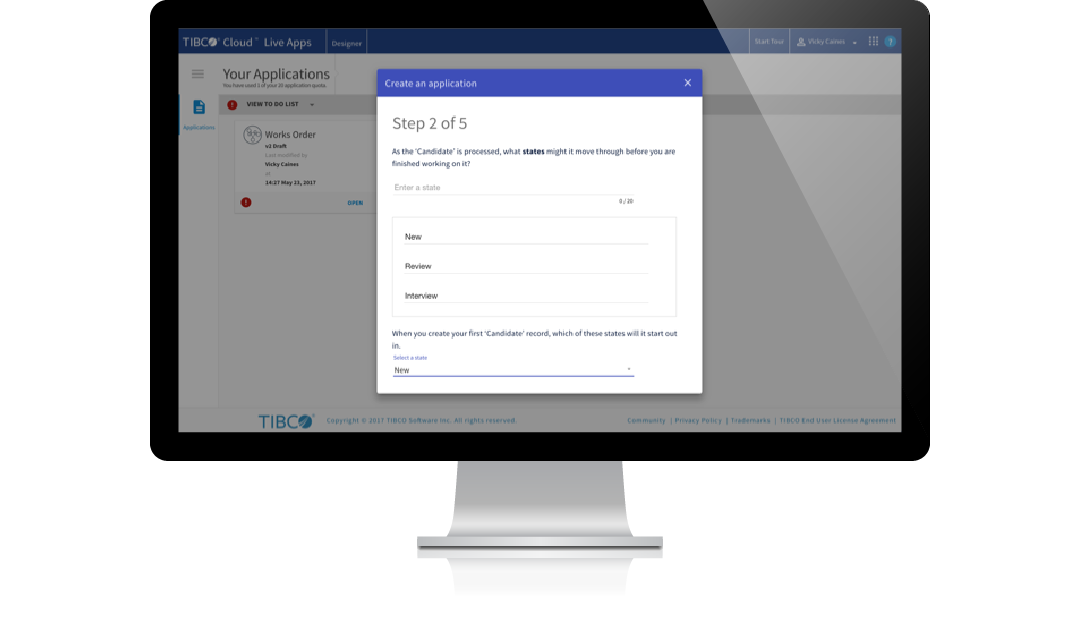 Solve business problems yourself with TIBCO Cloud Live Apps