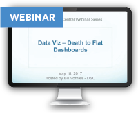 DataViz - Death to Flat Dashboards