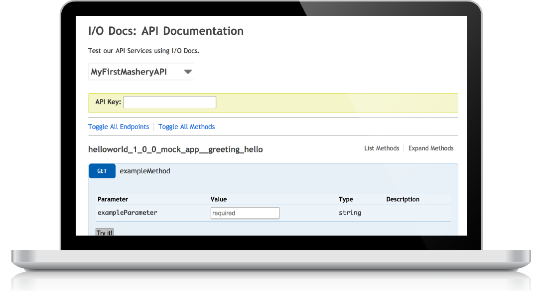 Deliver interactive API documentation within an API Portal