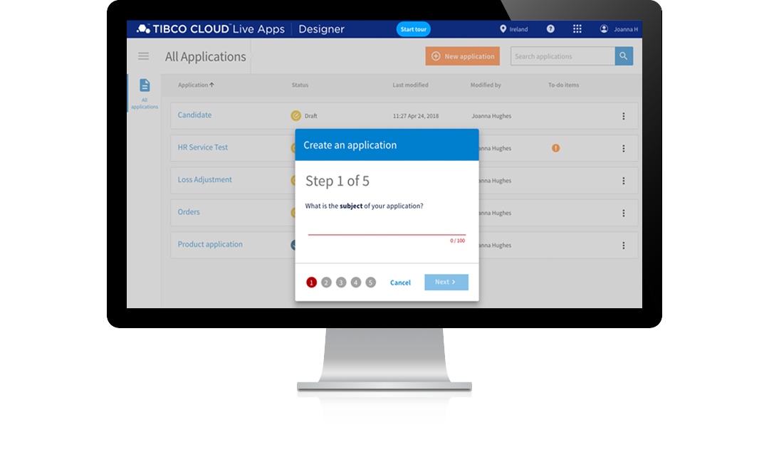 Business Users Solve Business Problems with TIBCO Cloud Live Apps