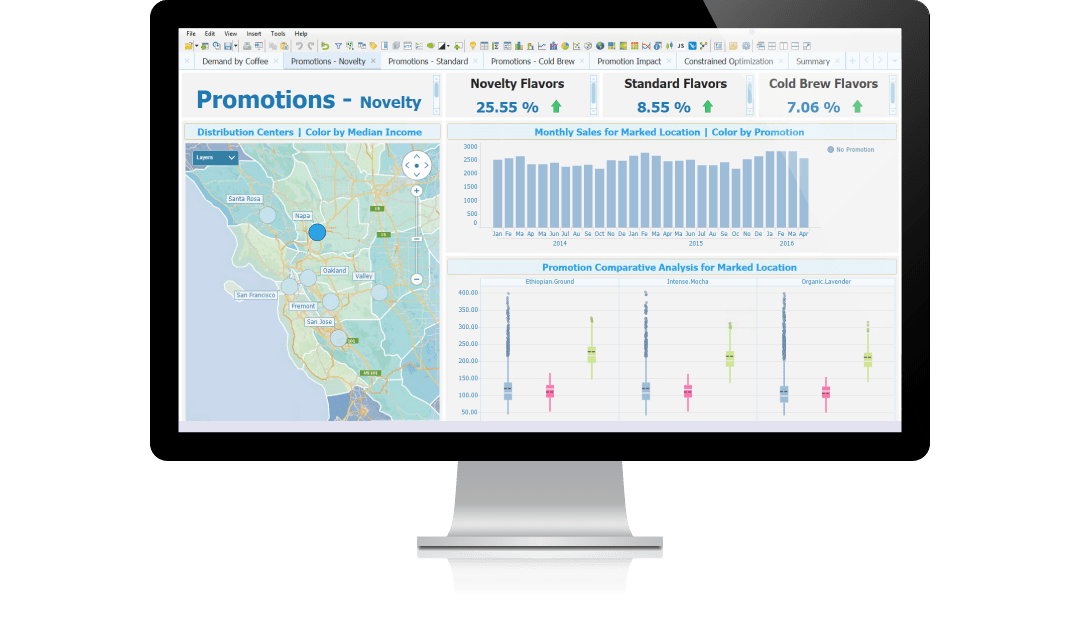 Put your data into geographic context